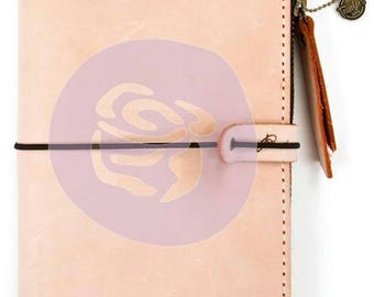Prima peach traveler notebook cover personal size