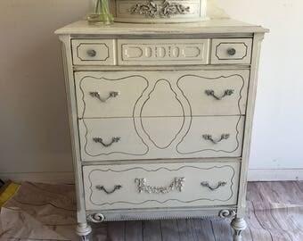 SOLD@@@@@Antique dresser/Glove Box Dresser