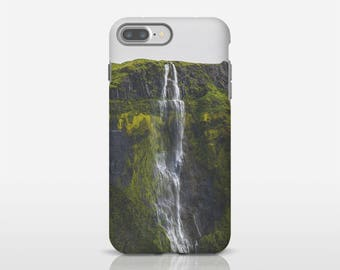 Water Fall Art, Photo Phone Case, Iceland Phone Art, Nature Phone Case, Apple iPhone Cases, Photo Cell Case, Gift For Him