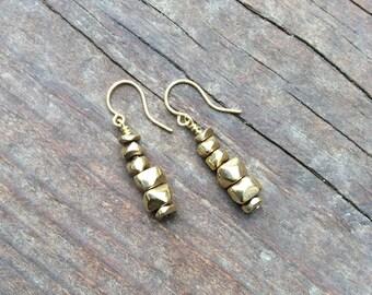 Petite Pebble Earrings