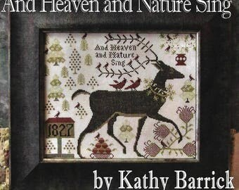 "KATHY BARRICK ""And Heaven and Nature Sing"" 
