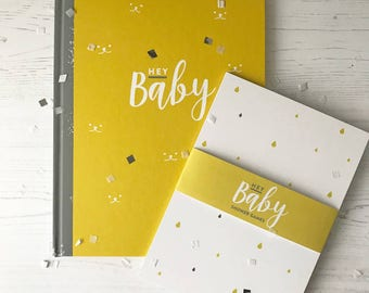 Baby Journal And Memory Book Baby Shower Gift Set