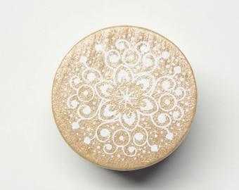 Circle stamp lace 3cm (2)