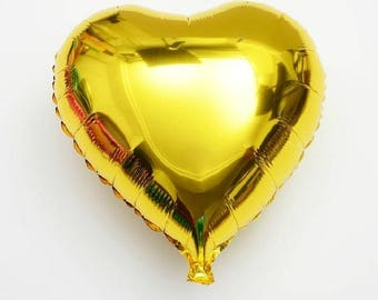 """8""""/20cm GOLD balloon foil balloons baby balloons  wedding decor photo prop birthday balloon garland"""