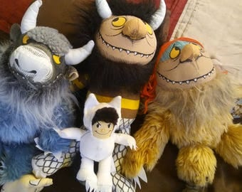 1990s Vintage Max and Where The Wild Things Are