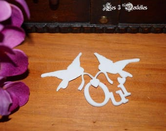 jewels of skin wedding double heart Yes doves