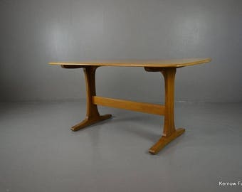 Ercol Blonde Refectory Dining Kitchen Table