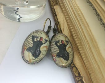 Earrings ' romantic ear lever corset
