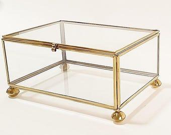 glass jewelry box glass box small jewelry box glass jewelry display