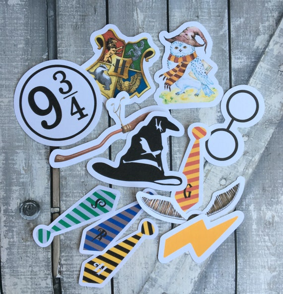 Harry Potter Large Die Cuts,Harry Potter Birthday Party Decoration,Harry Potter Party,Hogwarts Party,Harry Potter Card Making & Scrapbooking