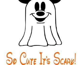 Mickey ghost   Etsy