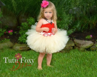 Baby Moana Tutu Dress, Baby Moana Costume, Moana Birthday, Princess Birthday, Princess Costume, Princess Dress