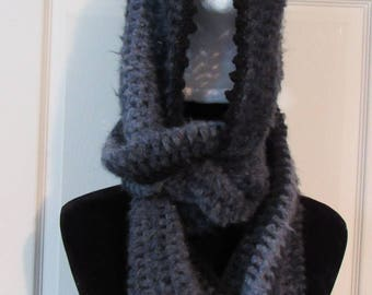 Hooded Scarf/Scoodie in Hazy ***Free Shipping***