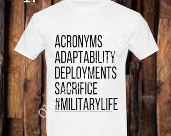 Military shirt, #militarylife, Military wife, t shirt, military support, army, marines, navy, air force, adult shirt, kids shirt, gift