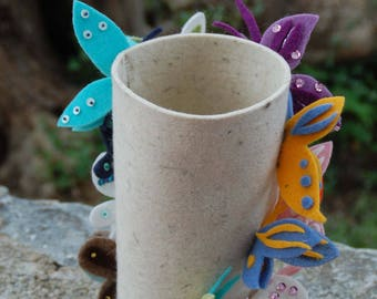 Felt dining table decoration - Butterfy - dining table decoration