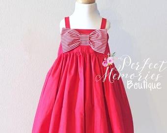 SALE Olivia Dress | Olivia the Pig Dress | Olvia the Pig | Toddler Olivia Dress | Olivia Birthday Party | Olivia | Olivia the Pig Costume