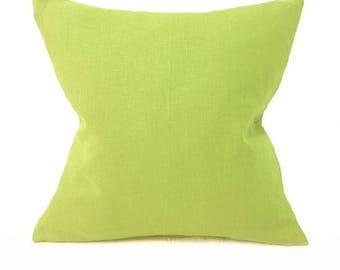lime green cushion etsy. Black Bedroom Furniture Sets. Home Design Ideas