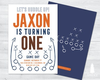 football birthday invitation, football party invitations, football birthday invites, football invitation, football birthday, football party