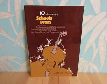 10th Anniversary Schools Prom 1984 souvenir programme, Royal Albert Hall