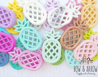 Pineapple Teether/ Pacifier Clip DIY/Dummy Clip/ Silicone Teething/ Soother Clip/ Teething Toy/Silicone Beads/ Tula acces