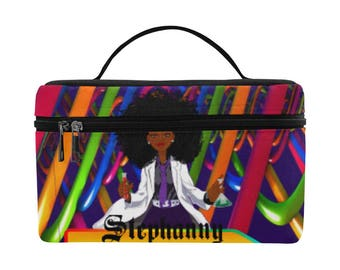 Personalized Lunch Bag For Women Insulated, Work Lunch bag, Lunch bag for girls,Lunch tote, African American, Brown, Black ,Afro , Melanin