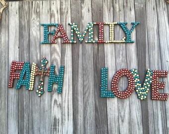 Family, Faith, Love