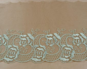 TULLE EMBROIDERED MESH COUPON