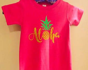 Aloha Infant Romper