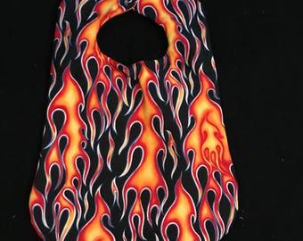 Fire/Flames Baby Bib
