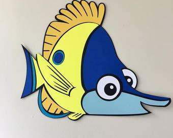 14 in Wide Finding Nemo Fish Friend