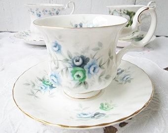 Vintage Royal Albert thee kopje en schotel, inspiratie, Bone China Engeland, Lady grootte, High Tea, huwelijksgeschenk
