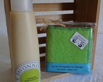 Oeko Tex certified sponge wipes
