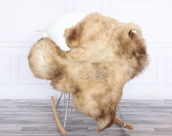 Sheepskin Rug | Real Sheepskin Rug | Shaggy Rug | Chair Cover | Area Rug | Sheepskin Throw | Carmel Sheepskin | #HERSEPT1