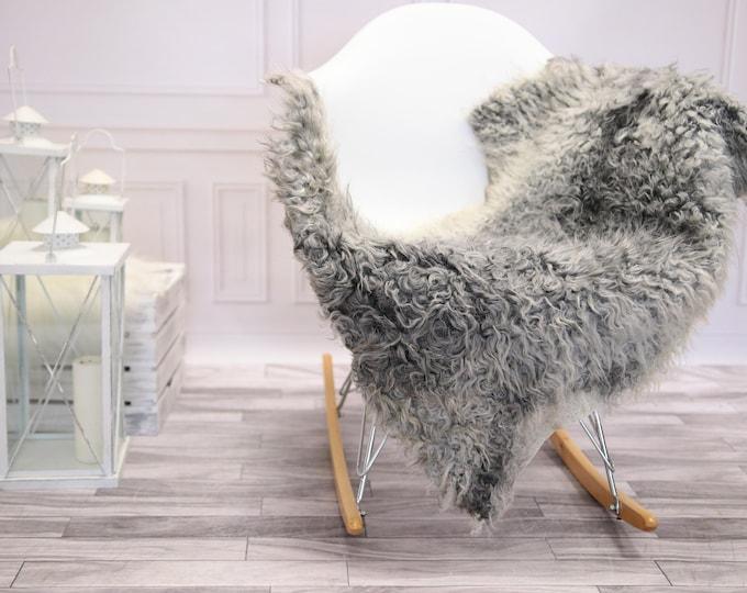 Genuine Rare Gotland Sheepskin Rug - Curly Fur Rug - Natural Sheepskin - Ivory Sheepskin #DECGOT17