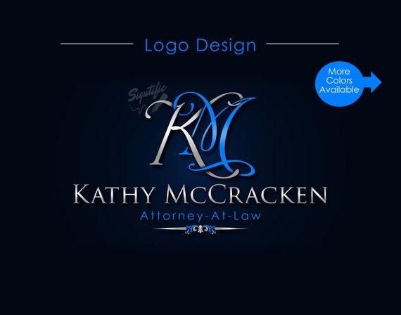 Custom Name Logo, Monogram Logo, Initials Name Logo, Agent Logo, Intertwined Logo, Realtor Logo, Professional Logo, Website Logo, Blog Logo