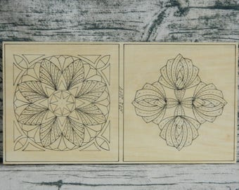 Practice Basswood Board for Practicing Chip Carving and Multilevel Carving Wood Carving Wood Working Wooden Board For Beginners in Carving