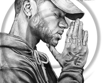 30% off (A3) Bryson Tiller #Drawing | Was 39.99 pounds - Check Out The New Price!