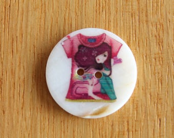button, Pearl, high fashion, mother of Pearl, fantasy, tee shirt