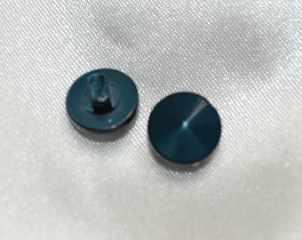 button tip diment Blue 12 mm on tail