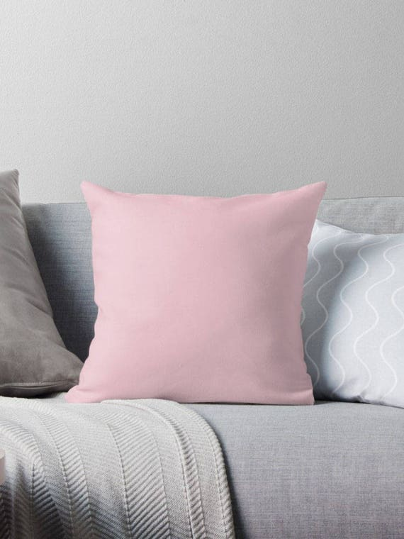 Light Pink Ruffle Throw Pillow : Blush Pink Pillow Light Pink Pillow Light Pink Throw Pillow