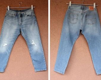 Vintage distressed Levis Denim Jeans W29 L32
