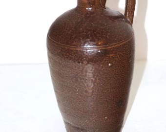 Stoneware Wiskey Jug, Little brown Jug