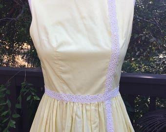 1960's Garden Party Dress