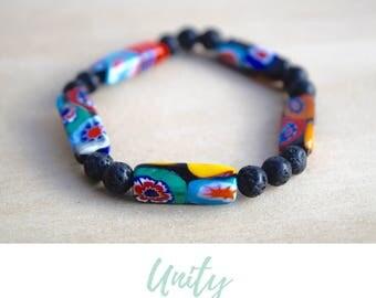 Colorful Bracelet / everyday bracelets, simple bracelets, minimalist bracelets, diffuser bracelet, layering bracelet, simple bracelet