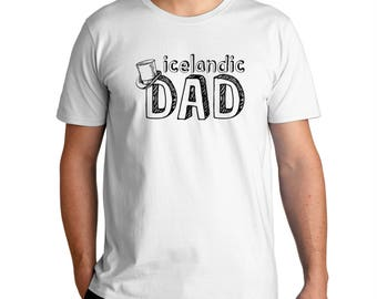 Icelandic Dad T-Shirt