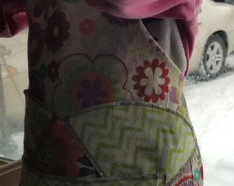 Children's reversible apron