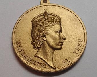 1953 Elizabeth II Coronation Commemorative Medal