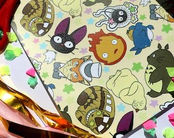 Studio Ghibli Gift Wrap | Wrapping Paper
