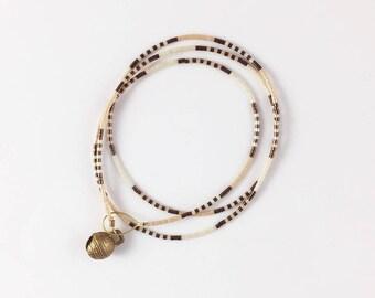 Beaded Bell Bracelet