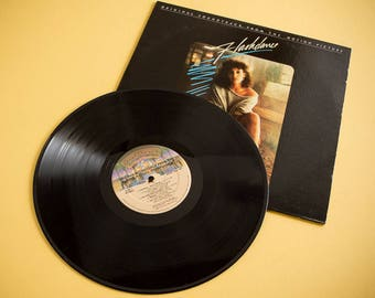 Flashdance | Film Soundtrack | Vinyl LP 1983 Casablanca Records  | Maniac | What A Feeling | Vintage Vinyl Album